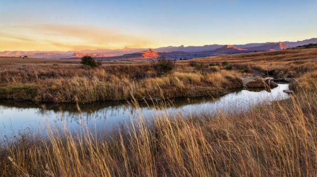 The River in Drakensberg