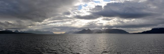 Molde fjord panorama