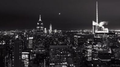 Empire State Building - B&W