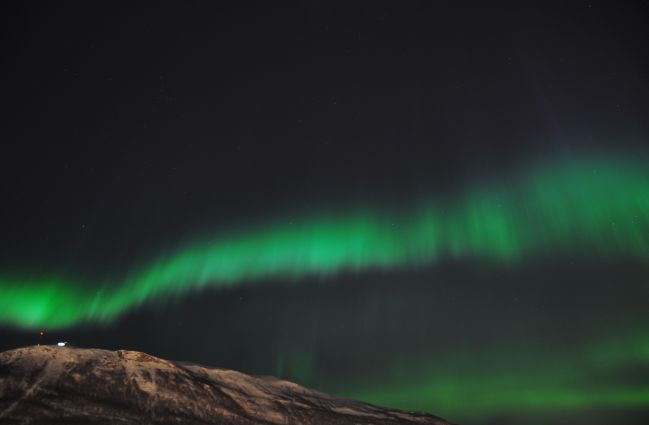 Aurora over Tromso 2