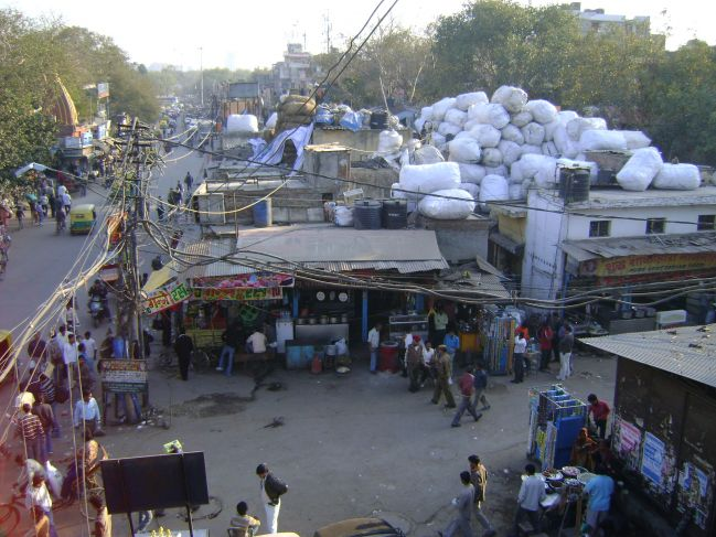 indian bazar (market)